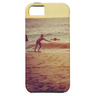Diversión de la playa iPhone 5 funda