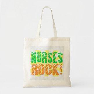 Diversión de la roca de las enfermeras, anaranjada bolsas