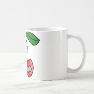 Diversión de las cerezas tazas de café