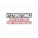 Diversión de las histerectomias… no postal