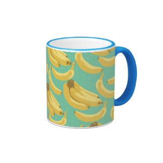diversión de los plátanos tazas