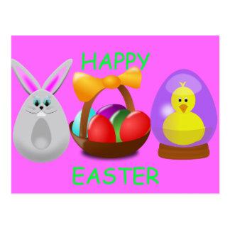 Diversión de Pascua Tarjetas Postales