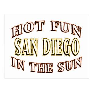 Diversión de San Diego Postales