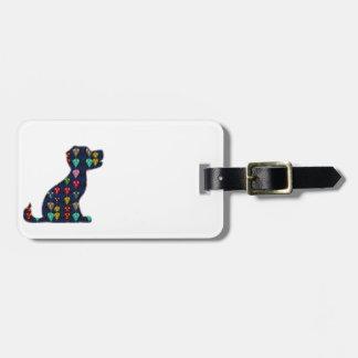 DIVERSIÓN del animal de mascota del perro del AMOR Etiquetas Bolsa
