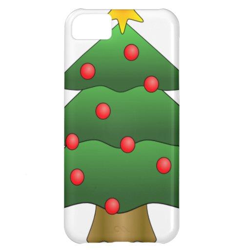Diversión del árbol de navidad funda para iPhone 5C