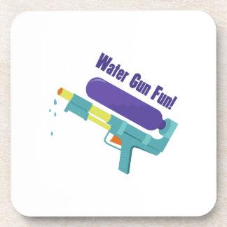 Diversión del arma de agua posavasos