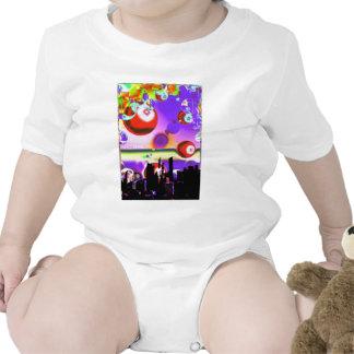diversión del bebé traje de bebé