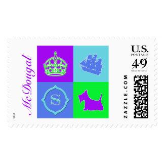 Diversión del color de no. 15 del escocés sello