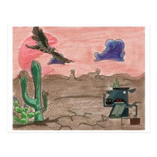 Diversión del desierto tarjeta postal