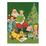 Diversión del día de fiesta de Navidad del storyti Tarjetas Postales