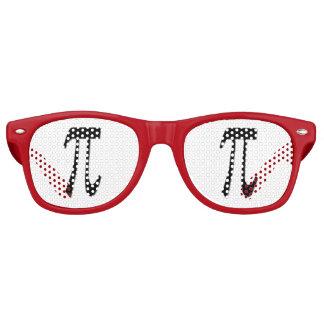Diversión del día del pi y gafas de sol