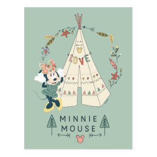 Diversión del festival de Minnie Mouse el | Tarjetas Postales