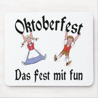 Diversión del Mit del Fest de Oktoberfest Das Alfombrilla De Raton