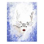 Diversión del navidad con los copos de nieve del a tarjetas postales
