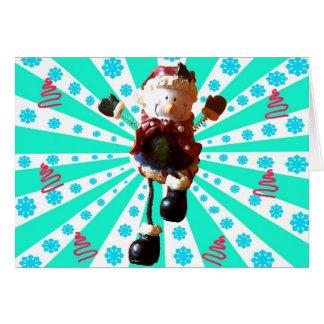Diversión del navidad tarjeta de felicitación