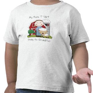 Diversión del país del tema mi camiseta de la