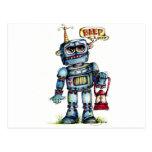 ¡Diversión del robot! Postales