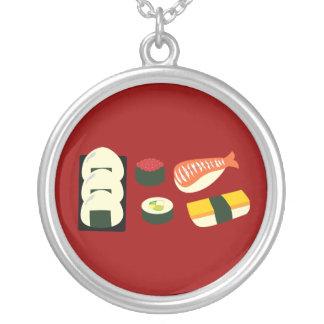 Diversión del sushi colgante redondo