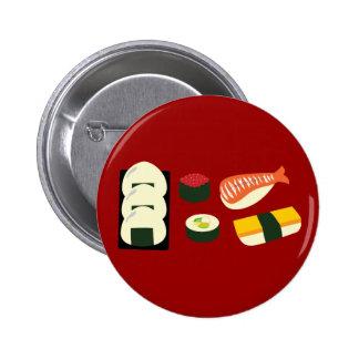 Diversión del sushi pins