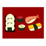 Diversión del sushi postal