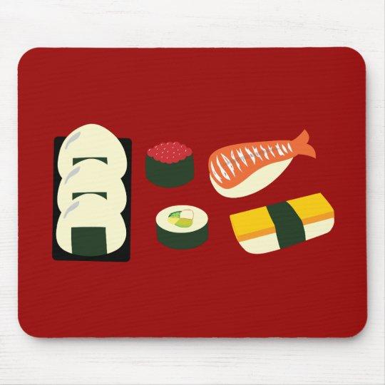 Diversión del sushi tapete de ratones
