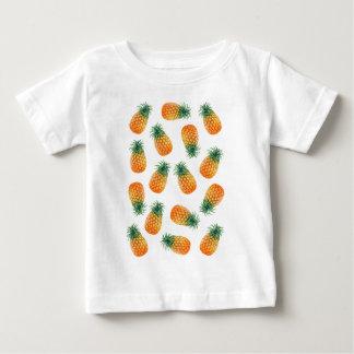 Diversión del verano del cuenco de fruta de la playera de bebé