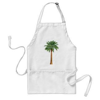 Diversión del verano del día de fiesta del Palm Delantal
