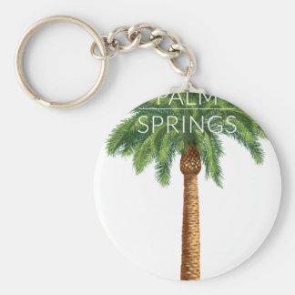 Diversión del verano del día de fiesta del Palm Llavero Redondo Tipo Pin
