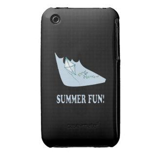 Diversión del verano iPhone 3 Case-Mate cárcasa