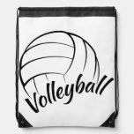 Diversión del voleibol mochilas