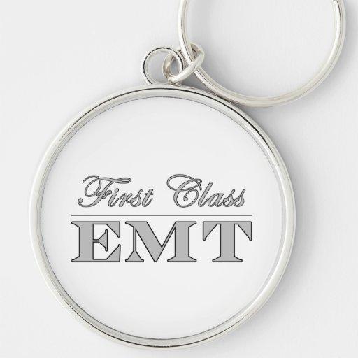 Diversión elegante EMTs: Primera clase EMT Llaveros Personalizados