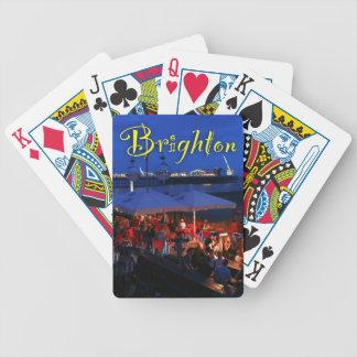 ¡Diversión en Brighton! Barajas De Cartas