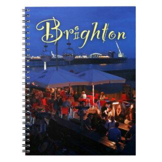 ¡Diversión en Brighton! Spiral Notebooks