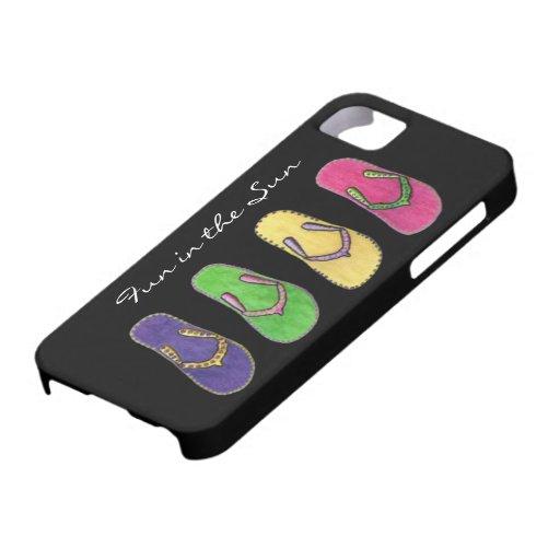 Diversión en el caso de Sun IPhone 5 iPhone 5 Fundas