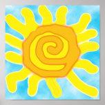 Diversión en el poster de Sun