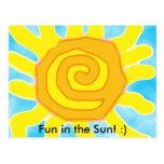 ¡Diversión en el Sun! :) postal
