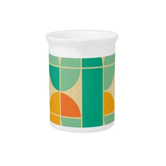 Diversión enrrollada del multicolor del modelo de jarras
