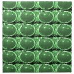 Diversión esmeralda del terre de la joya del vert servilletas