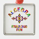 Diversión fabulosa de la álgebra adorno