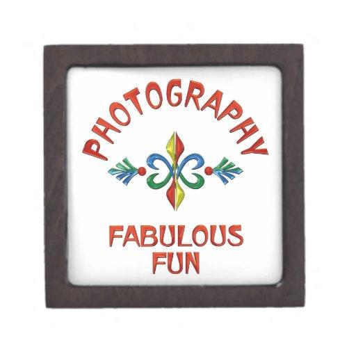 Diversión fabulosa de la fotografía cajas de regalo de calidad