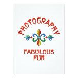 Diversión fabulosa de la fotografía invitación 12,7 x 17,8 cm