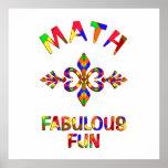 Diversión fabulosa de la matemáticas impresiones