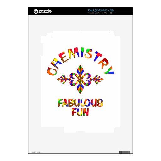 Diversión fabulosa de la química iPad 2 skin