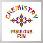 Diversión fabulosa de la química poster