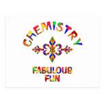 Diversión fabulosa de la química tarjetas postales