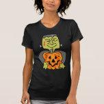 Diversión Frankenstein de Halloween Camisetas