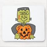 Diversión Frankenstein de Halloween Alfombrilla De Ratones