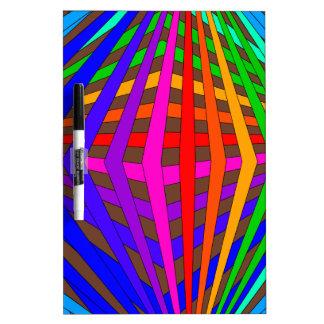 Diversión geométrica 1 del espectro intrépido mode pizarras blancas de calidad