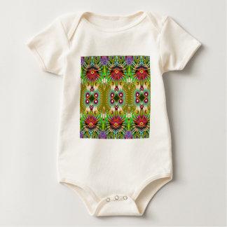 Diversión gráfica elegante exótica de los REGALOS Trajes De Bebé