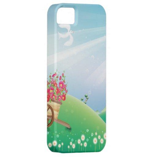 Diversión juguetona del verano iPhone 5 cárcasa